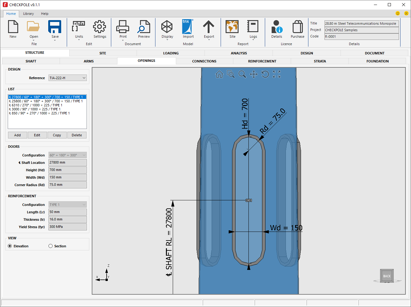 CHECKPOLE Monopole Analysis & Design Software | revolutio